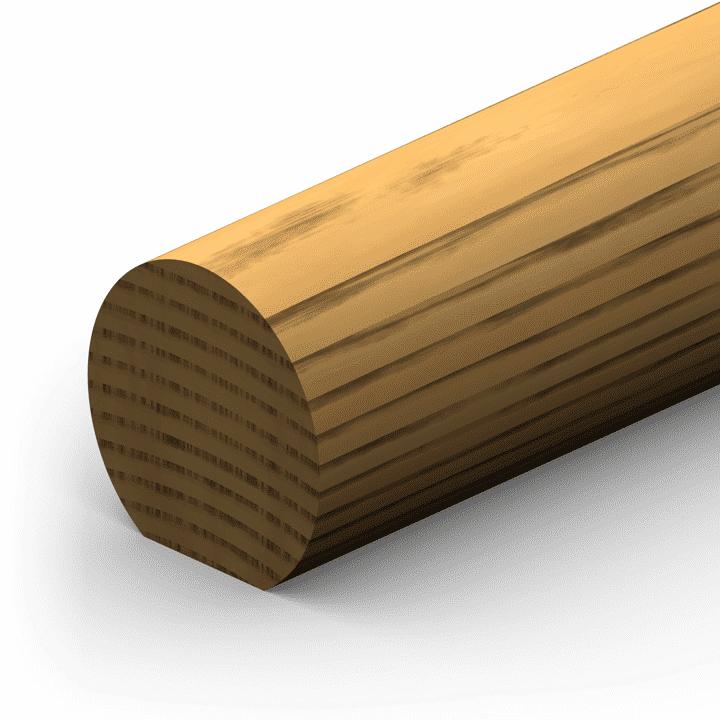 Round Hand Rail Etm 1010 Hand Rails Bar Rails E T Moore